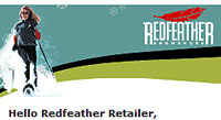 Redfeather Snow Shows email